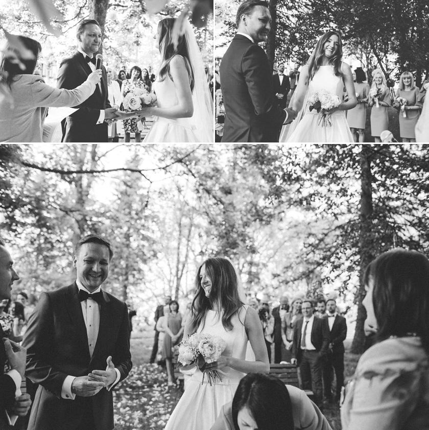 outdoor wedding ceremony poland,
