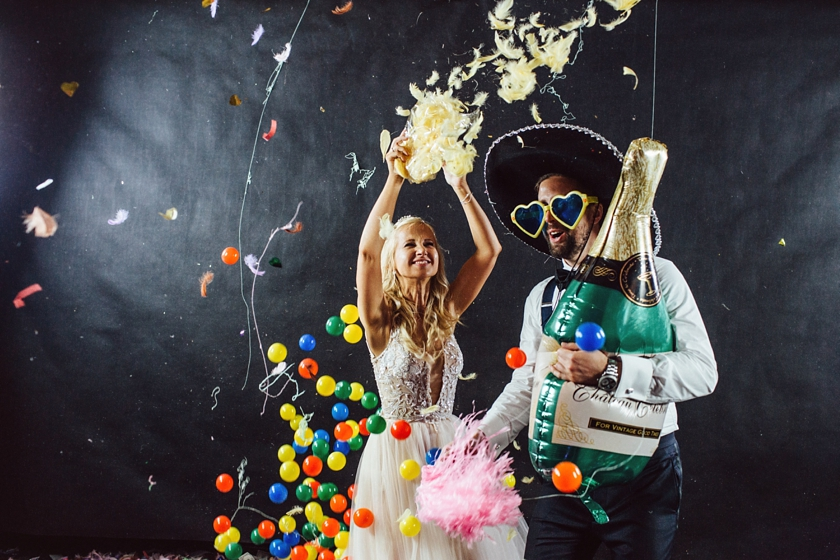 blow up hall 5050,best party photos,